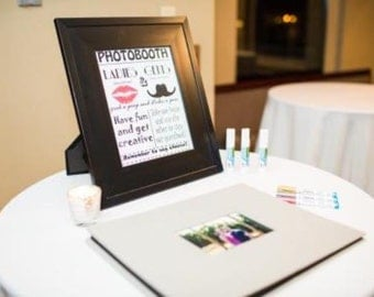 Digital File - Photobooth Sign for Your Wedding Guestbook