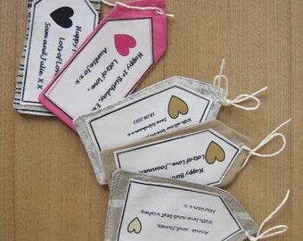 GIFT LABEL - personalised
