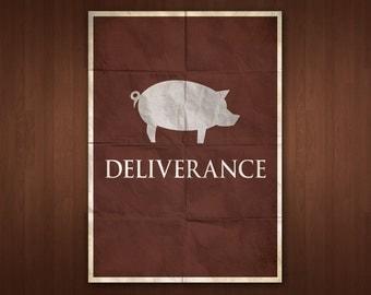 Deliverance Poster (Multiple Sizes)