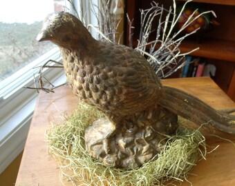 Ceramic pheasant