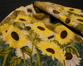 Popular items for sunflower kitchen on Etsy