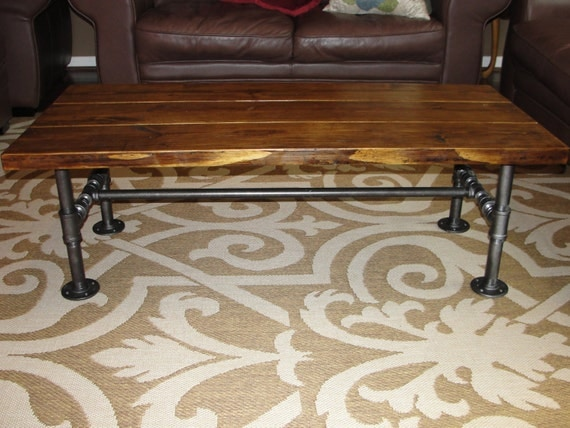 Industrial Pipe Fitting Coffee Table Greater Houston Texas