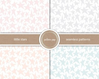 Stars Seamless Paper - Scrapbooking, Backgrounds