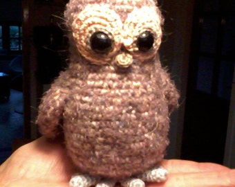 Oelewap the owl (pattern US)
