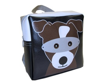 Little Packrats SUPER DOG Backpack + Mask