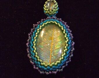 Forest leaf pendant