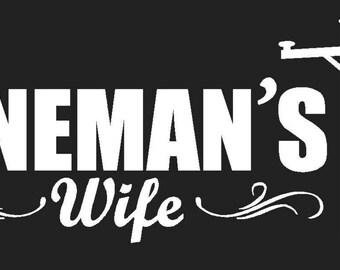 Lineman's Wife Vinyl Decal