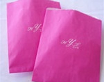 Personalized Glassine Favor,Wedding,Party,Event Bags Set of 25