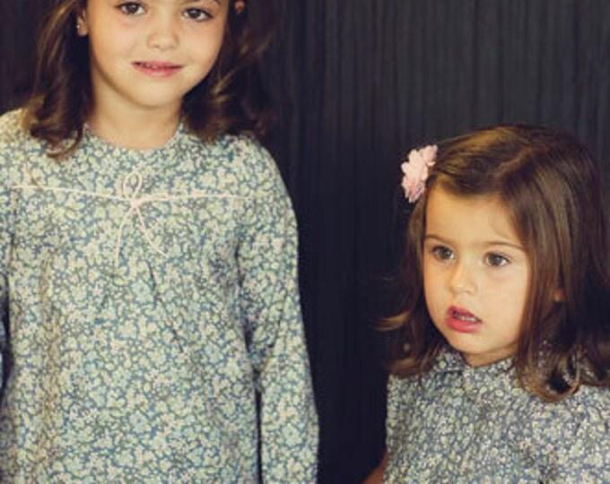 Girls dress, Flower print,Dress for all seasons,Flower girl Dress,Floral Graphic Print Girls dress