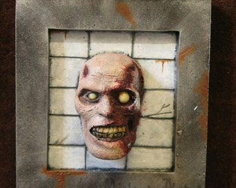 Frame mini trophy horror zombie