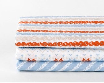 Knit- Quarter Fabric Pack 3 Fabric 1set - Sets for 3 each 45 X 55 cm