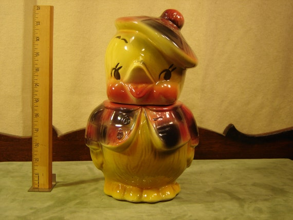 Original Vintage American Bisque Mr Dandy Duck