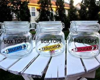 Box Top for Education Jar