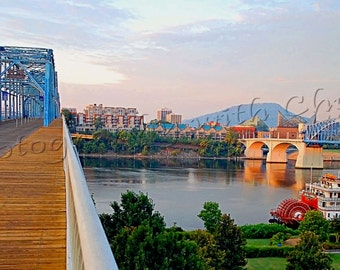 River View at Sunrise,  Chattanooga Tennessee