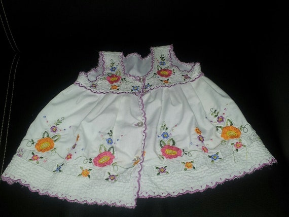 Dress for baby from 2 months to a year