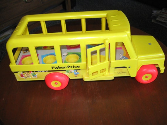 fisher price vintage 1984 192 7 passenger by toniscollectables. Black Bedroom Furniture Sets. Home Design Ideas