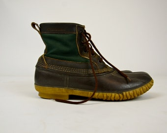 Vintage Lacrosse Duck Boots Made In Usa Domestic