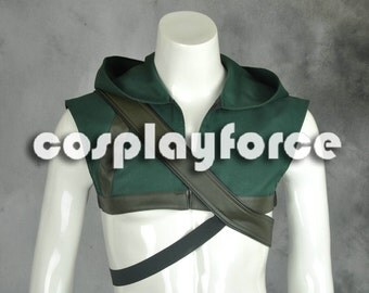 Green Arrow Oliver Queen America Cosplay Costume quiver+hood