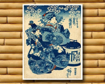 Retro Decor Japanese Art Vintage Print Asian Poster (J50)