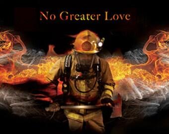 Fireman by artist Jason Bullard