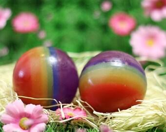 Rainbow Sphere Soap