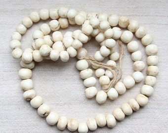 Conch Shell Prayer Beads, Bengal, India