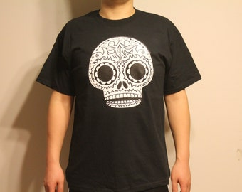 SALE-Skull Head Men's Humor T-Shirts (FREE SHIPPING)