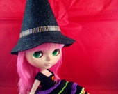 Blythe Crochet Halloween  Witch Dress