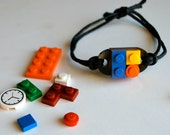 Play Day LEGO Bracelet in Black: Build Your Own LEGO Jewelry