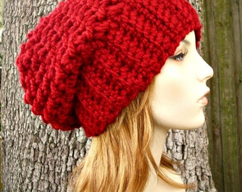 Instant Download Crochet Pattern - Slouchy Hat Pattern - Crochet Hat Pattern Souffle Beret Pattern Womens Hat Pattern - Womens Accessories