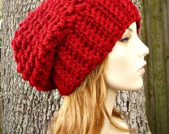 Instant Download Crochet Pattern - Slouchy Hat Pattern - Crochet Hat Pattern Souffle Beret Pattern Womens Hat Pattern - Womens Accessories