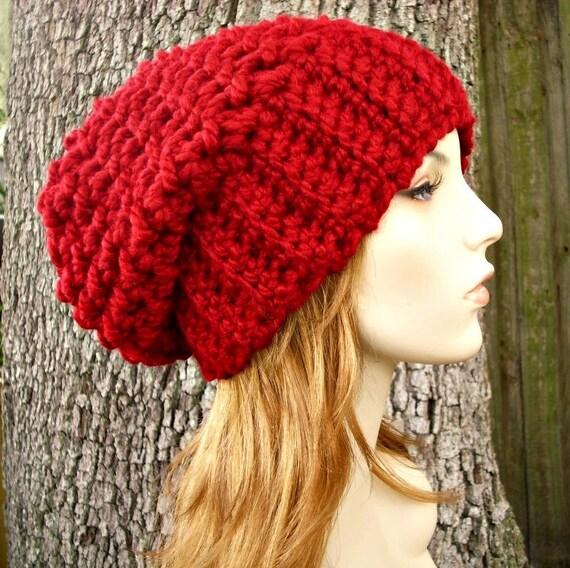 Instant Download Crochet Pattern - Slouchy Hat Crochet ...
