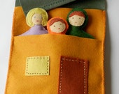 Felt House, Children Play House, Tooth Fairy Pillow, DIY Home, PDF Immediate Downloads - from Handwork Studio
