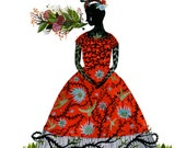 Frida - Limited Edition Archival Inkjet (Giclée) Print.