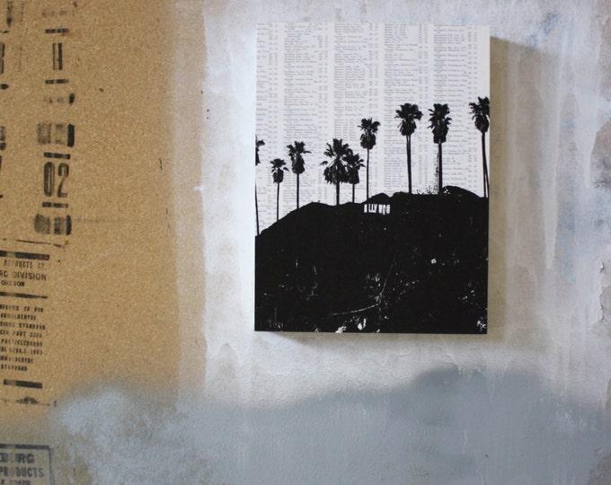 Los Angeles Atlas Page Print - Hollywood
