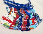 Easter Bunny Garland, Boys' Birthdays, Baby Showers, double sided fabric