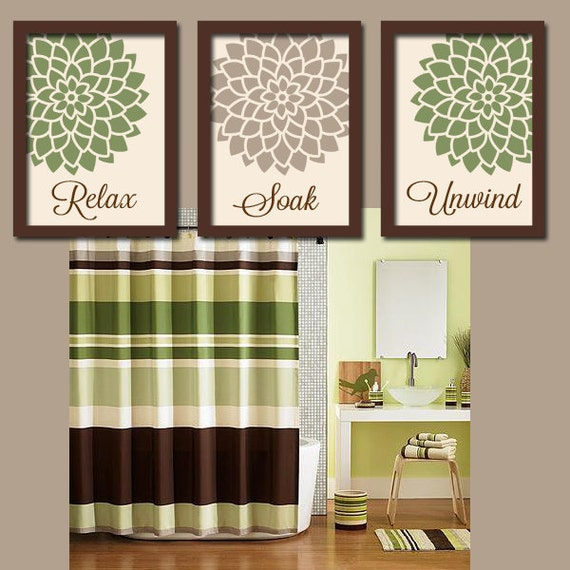 Etsy your place to buy and sell all things handmade for Bathroom decor green and brown