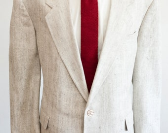 Size 46 Short Vintage Silk Sport Coat