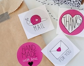 Packaging Stickers - Stickers for Packaging - Circle Stickers