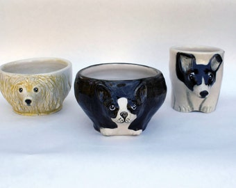 Custom Tea Bowl Of Your Favorite Animal Friend
