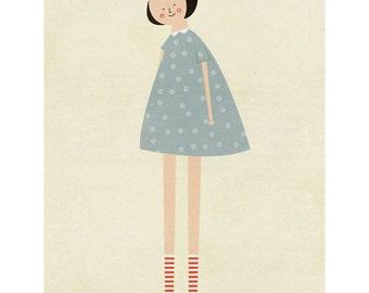 Long legs print