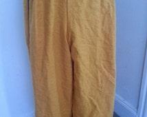 Linen Pirate Pants SCA Renaissance Medieval Pagan LARP Belly Dancing Pennsic Harem Pants