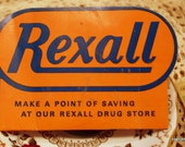 Rexall Drugs Needle Card Vintage Advertising