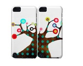 iPod Touch 5th Generation - Set of Two - Whimsical Art Tree