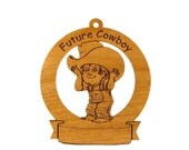 Future Cowboy Personalized with Your Child's Name