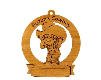 Future Cowboy Personalized with Your Child's Name - Free Shipping
