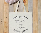 Maid of Honor Laurel Wreath Wedding Party Gift Bag
