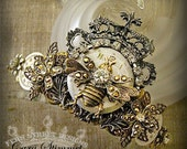Queen Bee Steampunk Crown - Free Shipping USA -