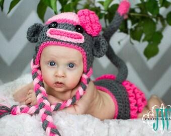 Crochet Along Sock Monkey - YouTube