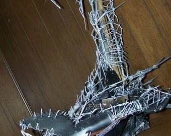 Metal Scorpion, Scorpion, Metal Scorpion, Scorpion Sculpture, Giant Scorpion, Futuristic Scorpion, Insect Sculpture,Scorpion Art